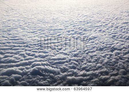 Cloudscape. Blue Sky And White Cloud.