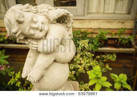 Sleeping Little Cupid