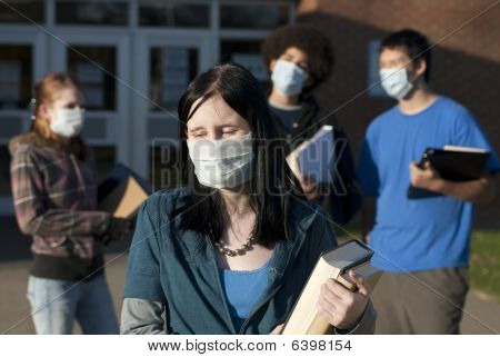 Swine Flu At School