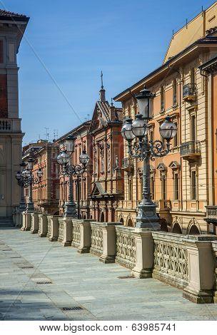Colourful buildings Bologna, Italy