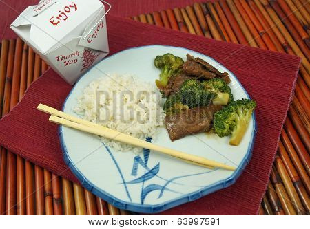 Takeout Chinese Food