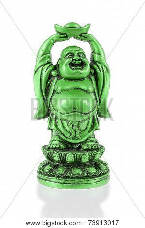 Small Happy Buddha Standing