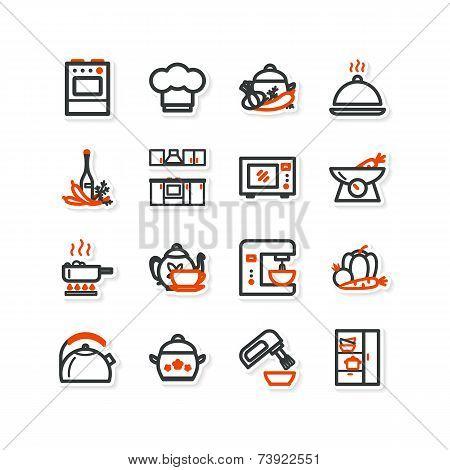 Interior, Kitchen, Food