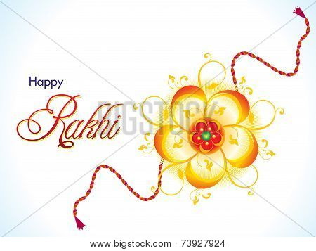 Abstract Raksha Bandhan Background