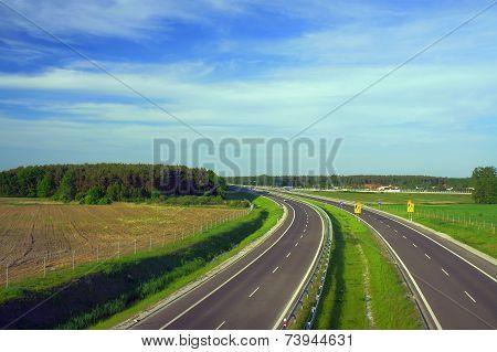 Dual carriageway