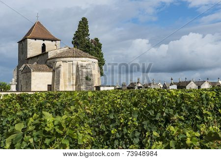 Church, Graves And Vinyard Of Francs And Tayac