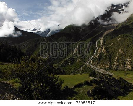 Green Himalayan Valley