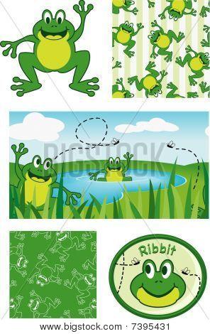 Happy Frog Patterns