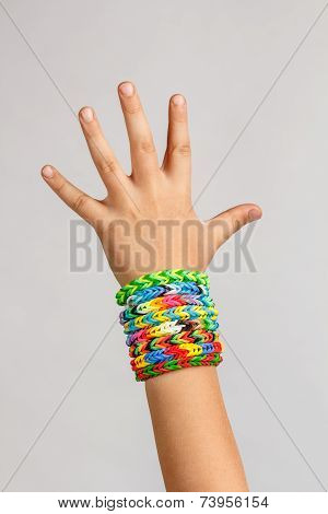 Loom Band Rubber Bracelets