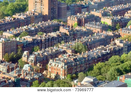 Back Bay apartment in Boston, USA