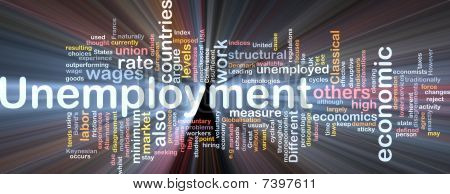 Unemployment Word Cloud Box Package