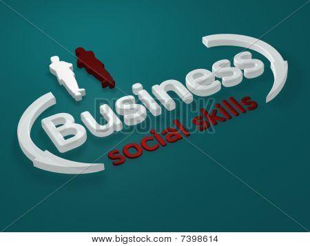 Business - Social skills - letter