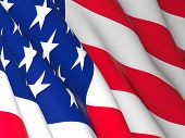 image of old glory american flag poster