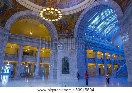 Utah State Capitol Building Interior