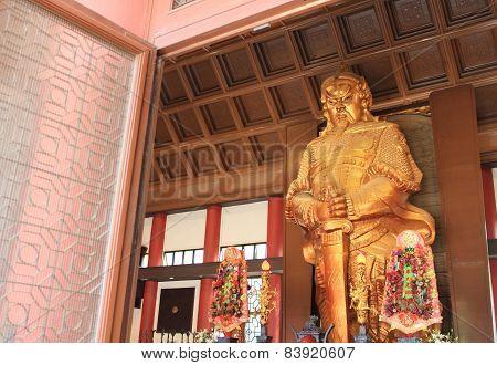 Che Kung god statue at Che Kung Temple, Hong Kong