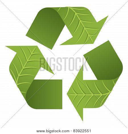 Leaf Recycle Logo