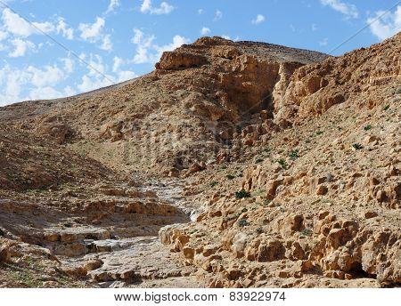 Desert canyon