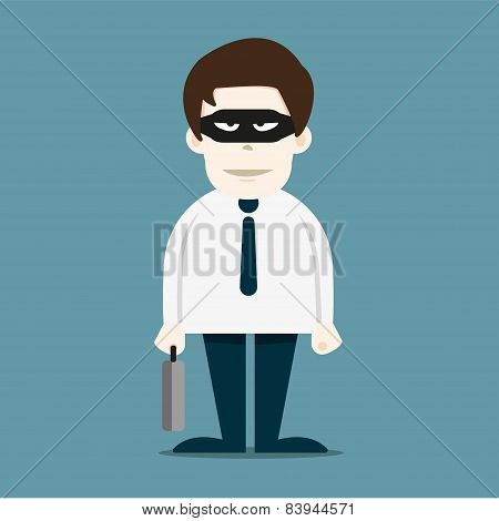 Thief In Business Man