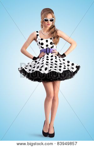 Dotted Dress.