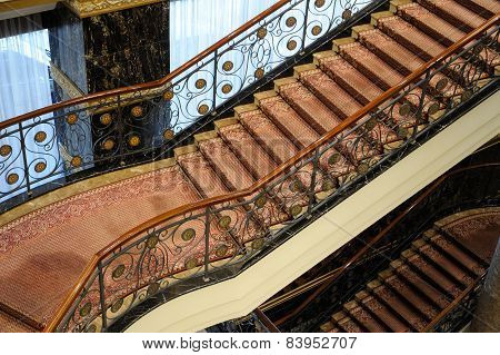 Stairs In Hotel Lotte