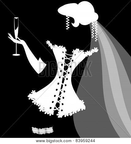 shadow of a bride