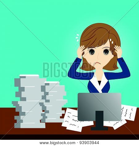 Busy Business Woman