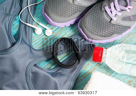 Workout Set With Heart Rate Monitor