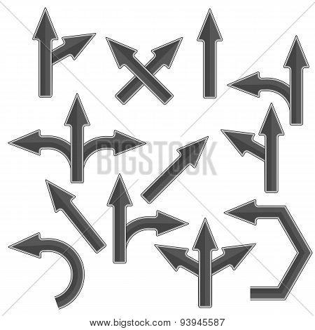 Grey Arrows