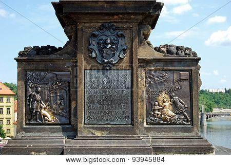 John of Nepomuk Monument, Prague.