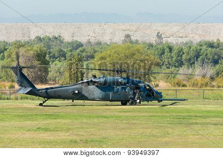 U.s. Army Sikorsky Mh-60K Helicopter