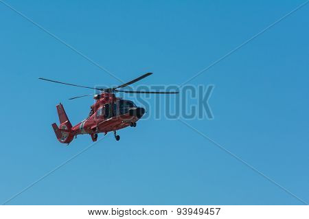U.s. Cost Guard Helicopter
