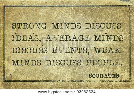 Minds Socrates