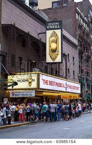 Eugene O'neill Theatre  In New York City