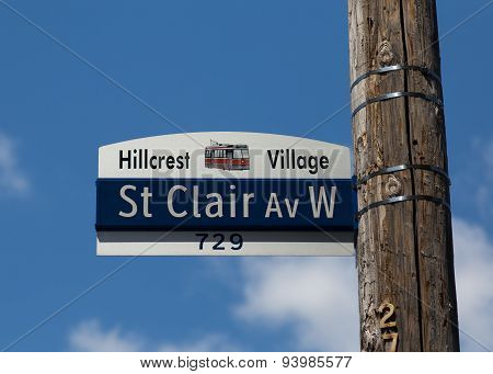 St Clair Avenue West