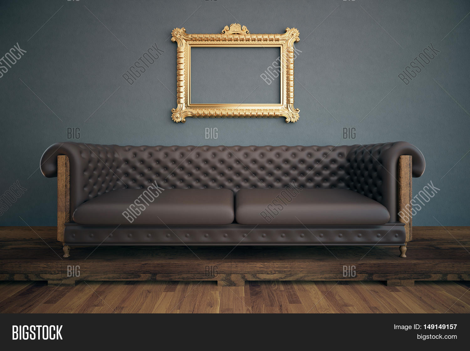 Terrific Front View Luxurious Image Photo Free Trial Bigstock Creativecarmelina Interior Chair Design Creativecarmelinacom
