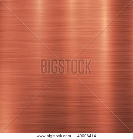 Bronze metal technology background with polished, brushed metal texture, chrome, silver, steel, aluminum, copper for design concepts, web, prints, posters, interfaces. Vector illustration. poster