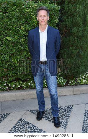 LOS ANGELES - SEP 25:  Steven Weber arrives to The Rape Foundation Annual Brunch on September 25, 2016 in Beverly Hills, CA