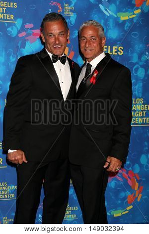 LOS ANGELES - SEP 24:  Johnny Chaillot-Louganis, Greg Louganis at the LA LGBT Center 47th Anniversary Gala Vanguard Awards at the Pacific Design Center on September 24, 2016 in West Hollywood, CA