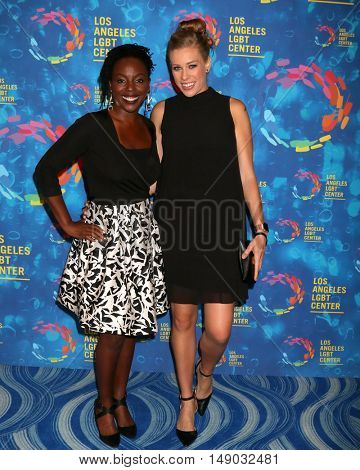 LOS ANGELES - SEP 24:  DJ Asha, guest at the Los Angeles LGBT Center 47th Anniversary Gala Vanguard Awards at the Pacific Design Center on September 24, 2016 in West Hollywood, CA
