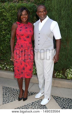 LOS ANGELES - SEP 25:  Viola Davis, Julius Tennon at the The Rape Foundation's Annual Brunch at the Private Residence on September 25, 2016 in Beverly Hills, CA