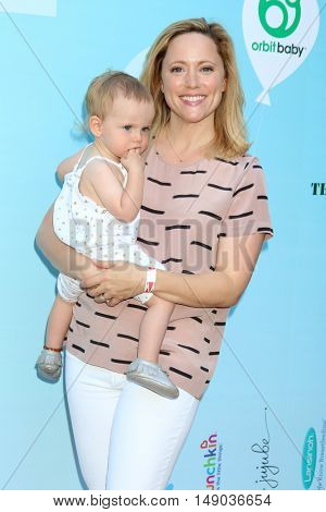 LOS ANGELES - SEP 24:  child, Annie Tedesco at the 5th Annual Red Carpet Safety Awareness Event at the Sony Picture Studios on September 24, 2016 in Culver City, CA