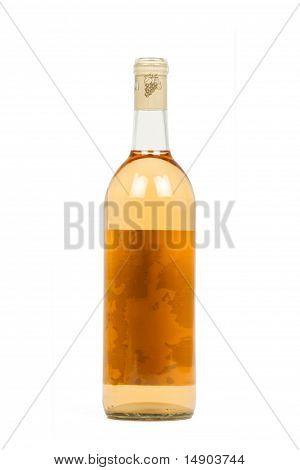 Bottle of Peach Wine