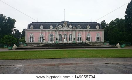 Benrath Palace is a Baroque-style maison de plaisance (pleasure palace) in Benrath, which was erected for the Elector Palatine Charles Theodor  by Nicolas de Pigage, Düsseldorf, Germany