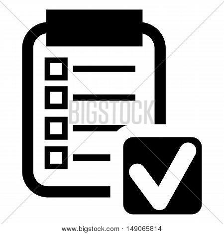 paper Icon blank board business checklist clean clip