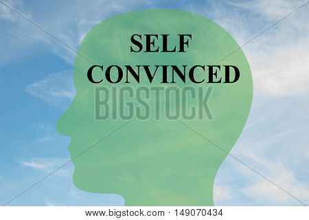 Self Convinced - Mental Concept