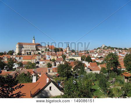 Wine Region Mikulov in South Moravia Czech Republic