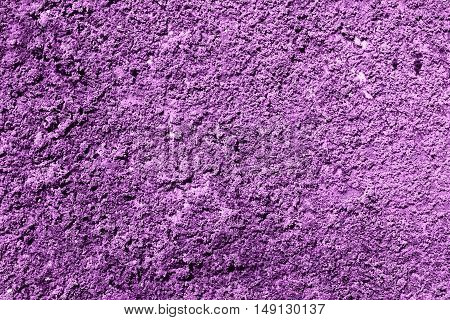 Purple Revetment Wall Putty Macro Texture Background