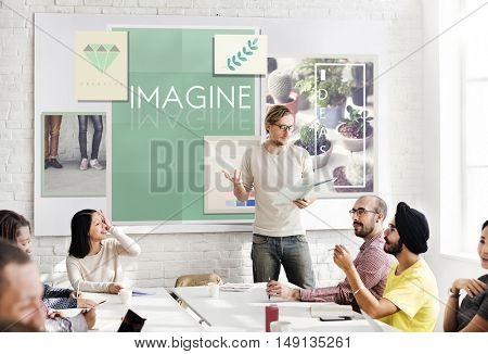 Imagine Creativity Imagination Thinking Concept