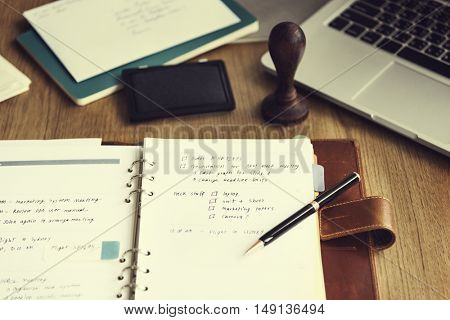 Appointing Assignment Notebook Resolutions Concept