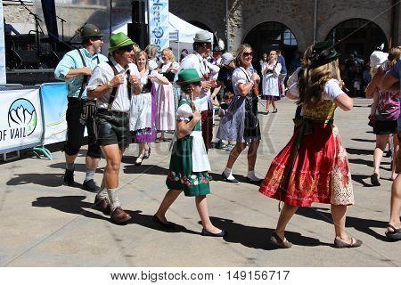 Oktoberfest Vail Colorado